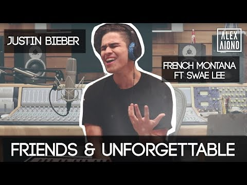 Friends By Justin Bieber Unforgettable By French Montana Ft Swae Lee | Alex Aiono Cover