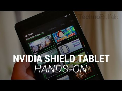 nvidia - NVIDIA SHIELD Tablet Hands-On NVIDIA just announced the NVIDIA SHIELD tablet and we're already here with our hands-on of the brand new gaming slate. It joins a new SHIELD controller and the...