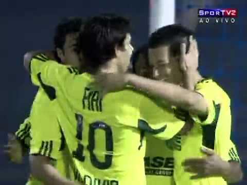 Os gols de Comercial PI 1 x 2 Palmeiras pela Copa do Brasil 2011. ...