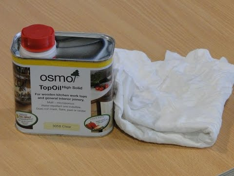 MAXI Plywood OSMO Oil demo