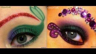 Disney: Ariel vs. Ursula makeup tutorial - YouTube