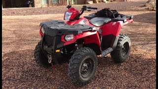 7. POLARIS SPORTSMAN 570 REVIEW and 1st impressions...