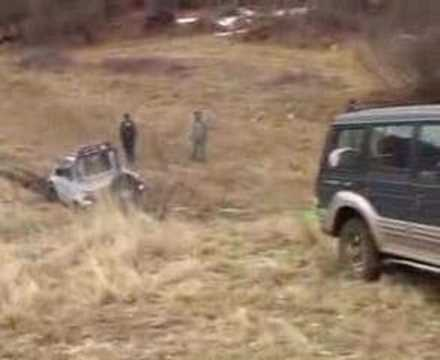 Galloper off road video