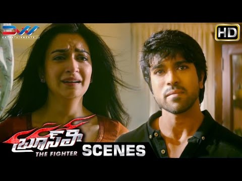 Ram Charan & Kriti Kharbanda Emotional Scene | Bruce Lee The Fighter Telugu Movie | Rakul Preet