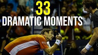 Video 33 Ways To Finish A Tennis Match IN STYLE (Most Dramatic Moments) MP3, 3GP, MP4, WEBM, AVI, FLV Maret 2019