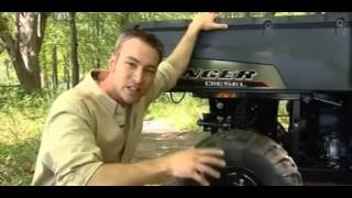 10. Polaris RANGER Diesel and HD with Turf Mode