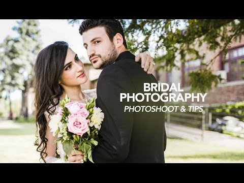 Natural Light Wedding Photography - Tips, Tricks & Posing (видео)