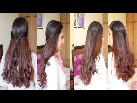 4 Simple & Easy DIY Hairstyles | Hairstyle Tutorial