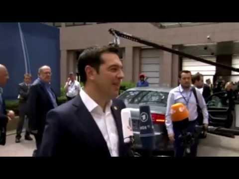 Άφιξη στη Σύνοδο Κορυφής – Arrival at the European Council