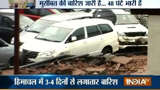 Pauri Garhwal India  City pictures : Uttarakhand: House Collapsed Due To Cloudburst In Pauri Garhwal | India Tv