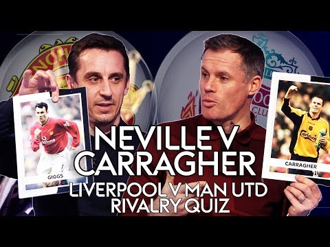 Gary Neville V Jamie Carragher | Who Knows The Most About Liverpool & Man Utd's History?