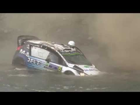 Ott Tanak crash. Best video! WRC rally Mexico 2015
