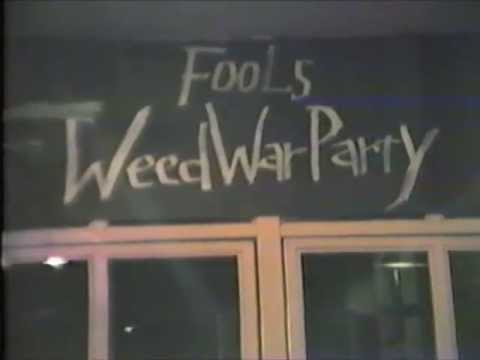 THE FOOLS 'Weed War Party'(CD+DVD) Trailer