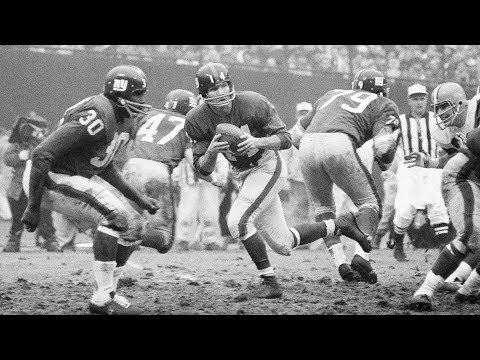 Video: Remembering Y.A. Tittle | 2x MVP, 4x All-NFL, & Pro Football Hall of Famer | NFL Legend