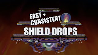 SSBM: How to Shield Drop FAST and CONSISTENTLY
