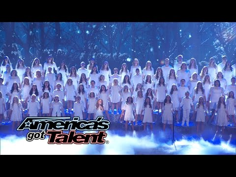 "Idina Menzel  ""Let It Go"" Cover by America's Got Talent"