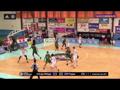 ANGT Coin: U18 Unicaja Malaga vs. U18 USK Future Stars Prague - Full Game