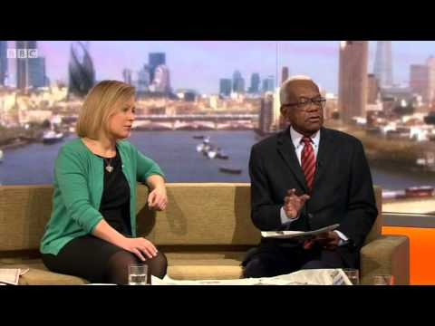 Gillian Tett & Trevor Mcdonald review the Sunday papers 081213 with Marr