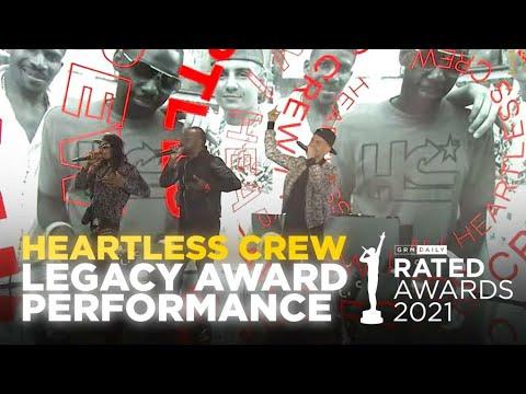 Heartless Crew Shutdown Legacy Award Performance | Rated Awards 2021
