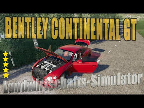 Bentley Continental GT 2018 v1.0