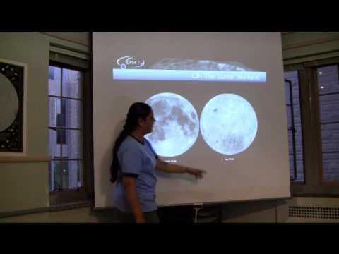 Übersicht über dem Mond
