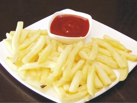 How to make French Fries at home   Secret Tip to keep fries Crisp   Homemade Crispy French Fries  