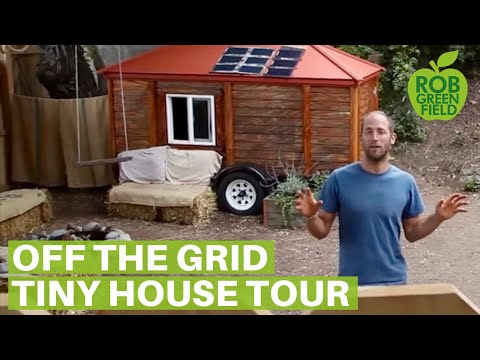 Off the grid, tiny house living, in the city!