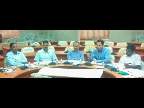 , Jogu Ramanna-Video Conference on Haritha Haram