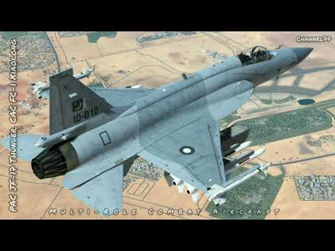 The PAC JF-17 Thunder (Urdu: جے...