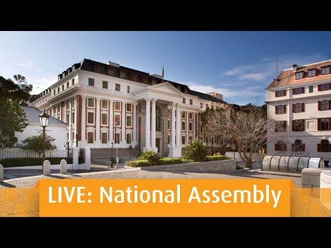Plenary, National Assembly, 19 March 2019