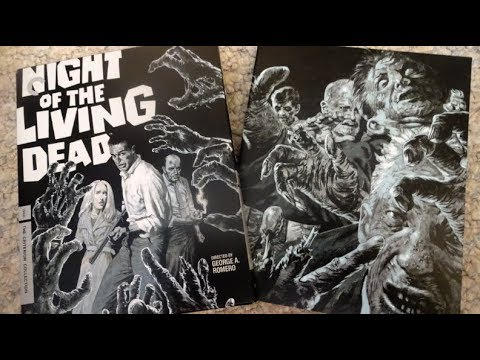 Criterion Collection - NIGHT OF THE LIVING DEAD (1968) Blu Ray Unboxing