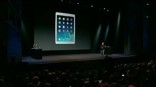 iPad Air Introduction. The iPad Air is the successor the the iPad 4 and now includes new features such as an A7 & M7 processor with thinner bezels