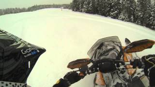 10. 2013 Ski Doo REV-XM SUMMIT SP 800 ETEC 154''  Powder Test Drive !