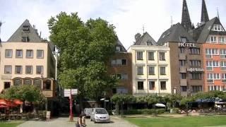 Video tour of Cologne - Koln of its popular tourist spots