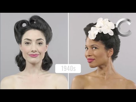 Watch two women compare a century of beauty