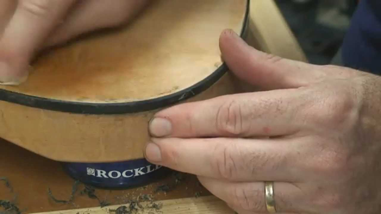 Part 5 – How to Install Binding on an Electric Guitar body
