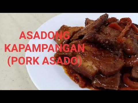 ASADONG KAPAMPANGAN (PORK ASADO) l ULAM FOR TODAY