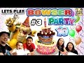 Lets Play Mario Party 10 Bowser Party In Mushroom Park