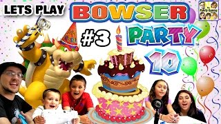 Lets Play MARIO PARTY 10! Bowser Party in Mushroom Park!  (FGTEEV 5 Player FAMILY GAMEPLAY Part 3)