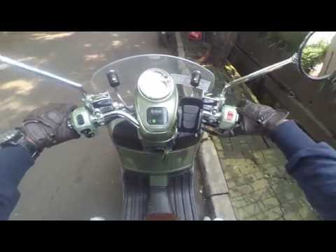 #8 TEST RIDE Piaggio Vespa GTV 250 ie