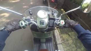 6. #8 TEST RIDE Piaggio Vespa GTV 250 ie