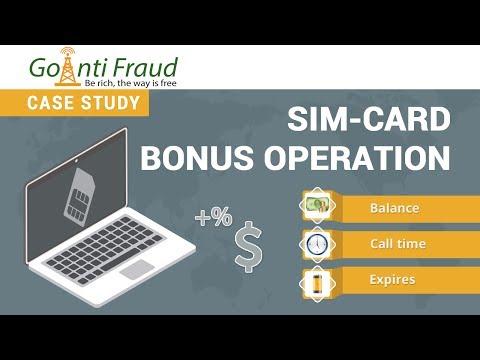 GoAntiFraud Features for Efficient GSM Termination: Processing of Bonuses for SIM-cards
