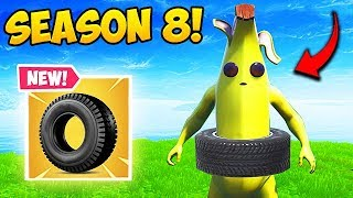 THE BOUNCY TIRE! - Fortnite Funny Fails and WTF Moments! #485