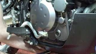 8. Motorcycle Repair: How to change the oil and oil filter on a 2009 Kawasaki KLR 650
