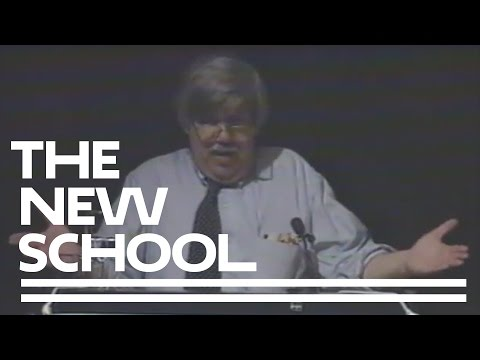 1995 - In the Company of Animals - Keynote: Stephen Jay Gould | The New School