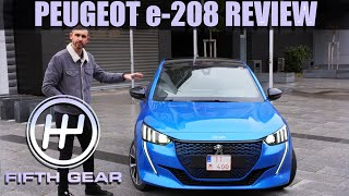 AD - Peugeot e-208 Review | Fifth Gear by Fifth Gear