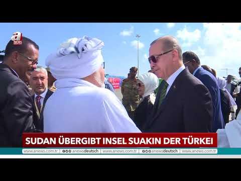 Sudan übergibt Insel Sukin der Türkei | A NEWS DEUTSCH
