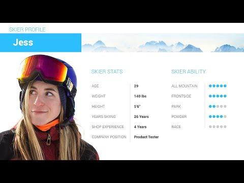 Video: Volkl Kenja Skis 2019 10 45