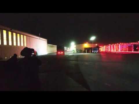 Первое видео разгона грузовика Tesla
