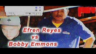 Part 1 / Efren Reyes Vs Bobby Emmons / 1 Pocket Match!